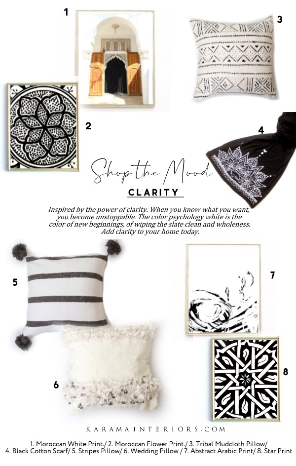 Clarity Collection Moroccan Boho  Shop