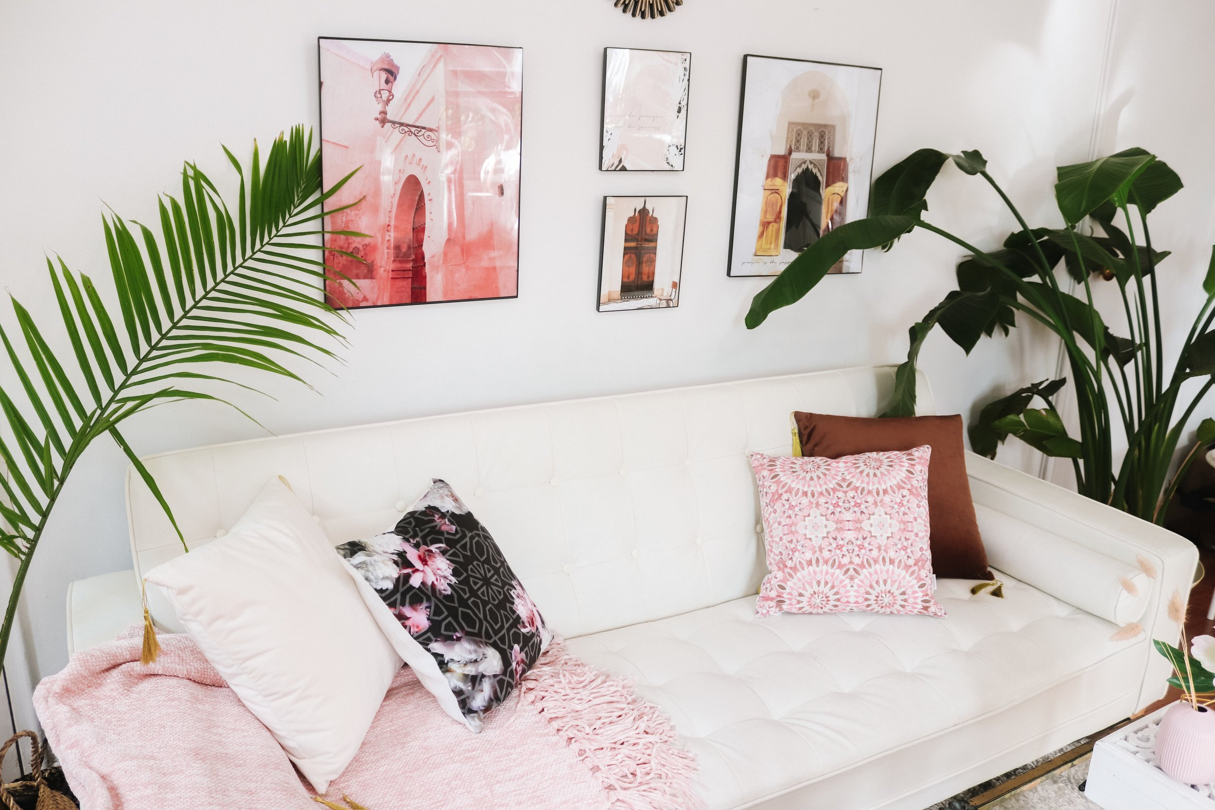 How to Create the Perfect Staycation- Modern Boho Arabesque Home Decor - Karama by Hoda
