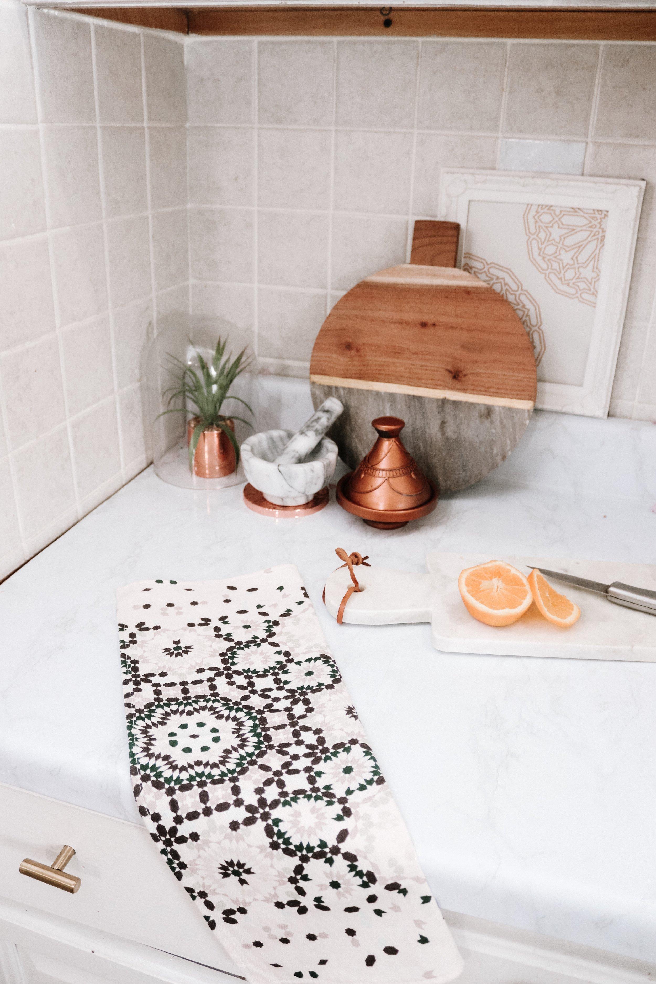 5 Easy Tips to Refresh Your Kitchen- Karama by Hoda- Moroccan Decor Boho Decor