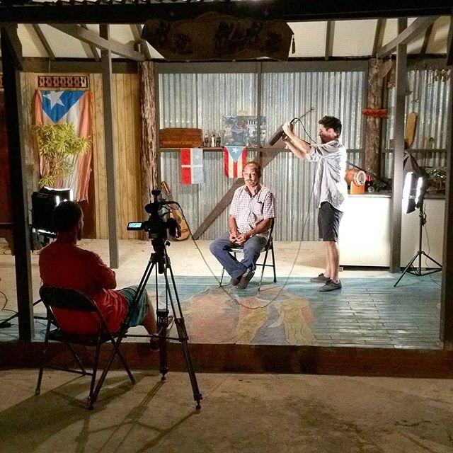 La última entrevista del fin de semana. Gracias a Neftali y toda la familia Soto. Sin su ayuda no pudiera existir este documental. Ya casi estamos terminado. #tonobicicleta #documental #puertorico #elforajidofilm #Lares