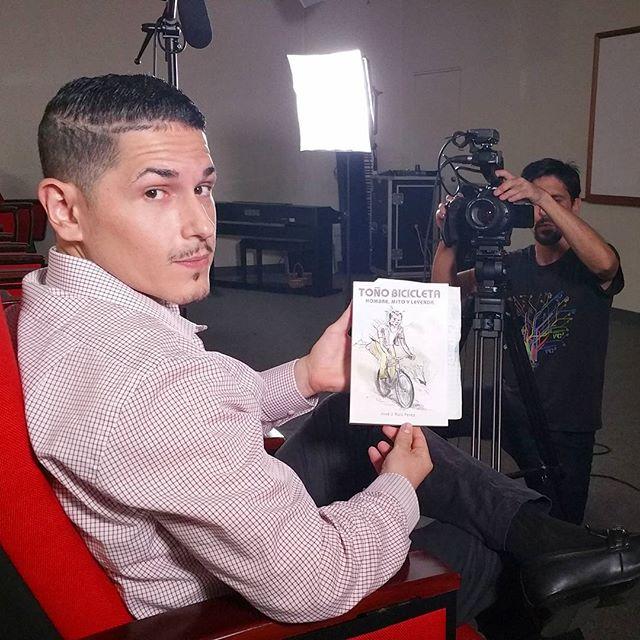 Gracias a Javier Ruiz por una gran entrevista sobre su libro, Toño Bicicleta: Hombre, Mito y Leyenda. #tonobicicleta #documental #puertorico