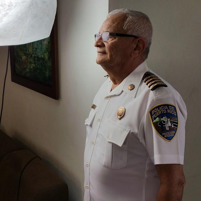 Teniente Héctor Arocho, El Comandante de la Estación de Policía de Lares habló con nosotros acerca de la casaría de Toño Bicicleta. #tonobicicleta #documental #puertorico #arecibo