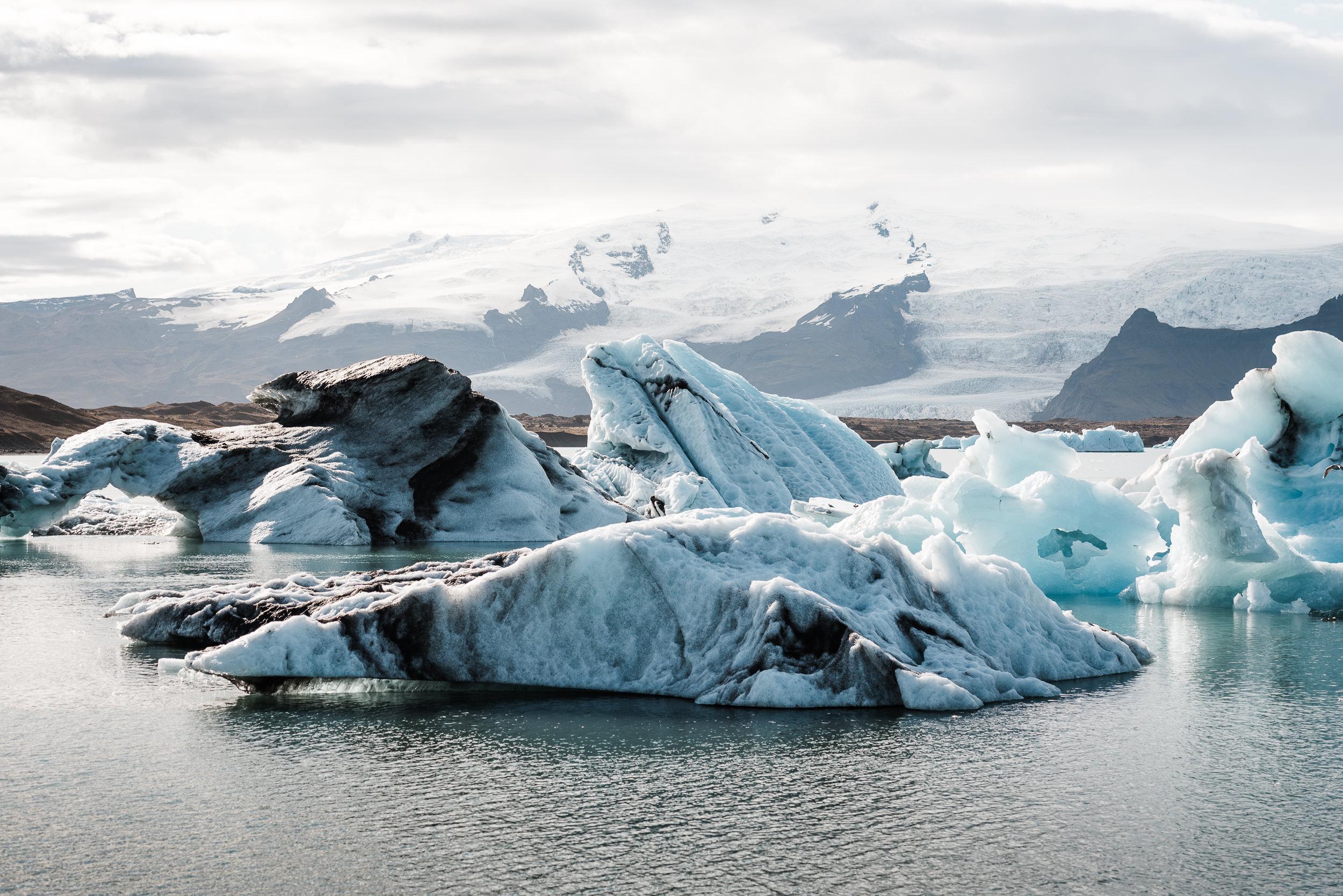 Jökulsárlón (glacier lagoon)