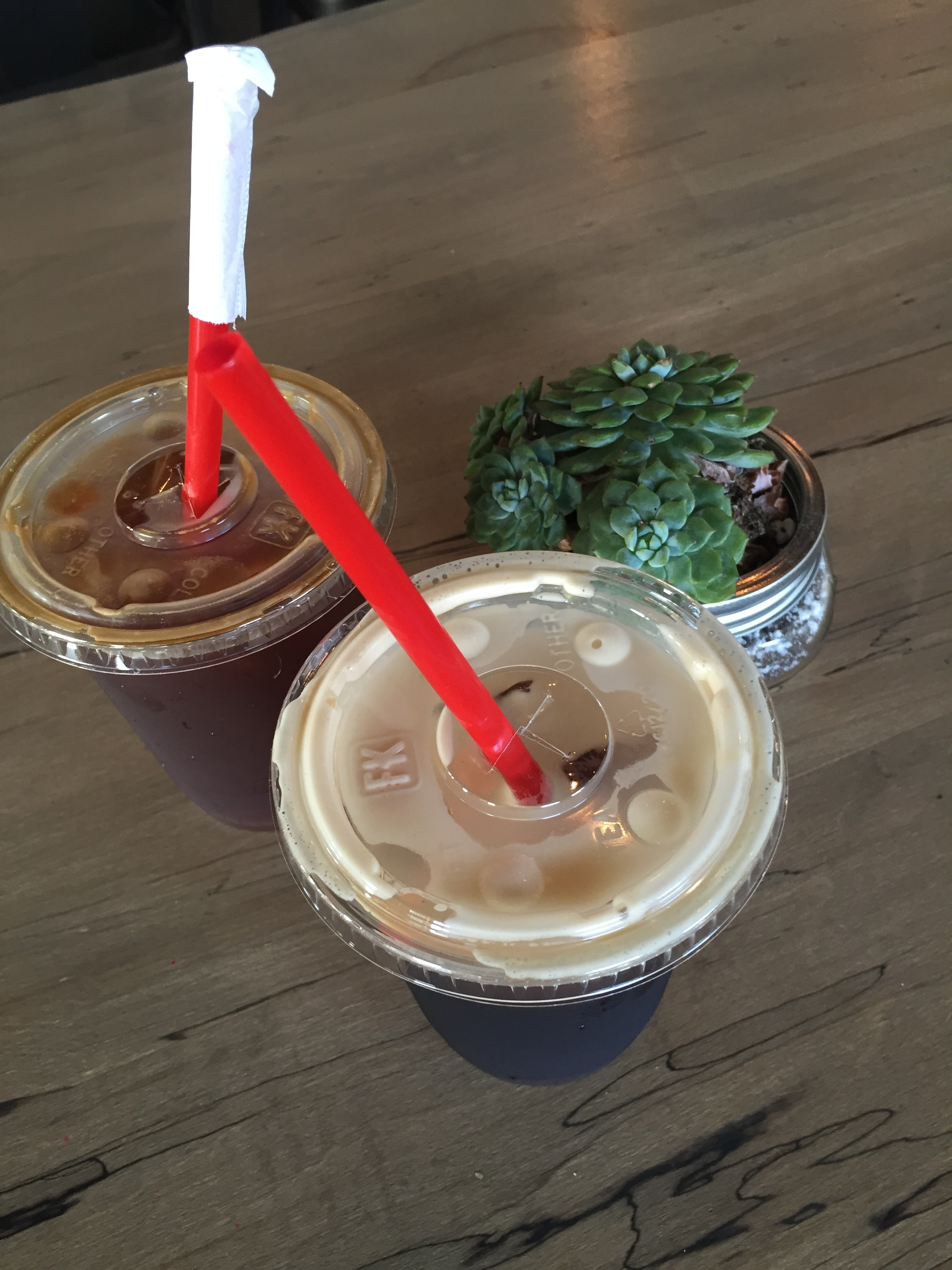 Pour Coffee Parlor on Park Ave had some excellent cold brew. I got three iced coffees in the morning. They were all for me.
