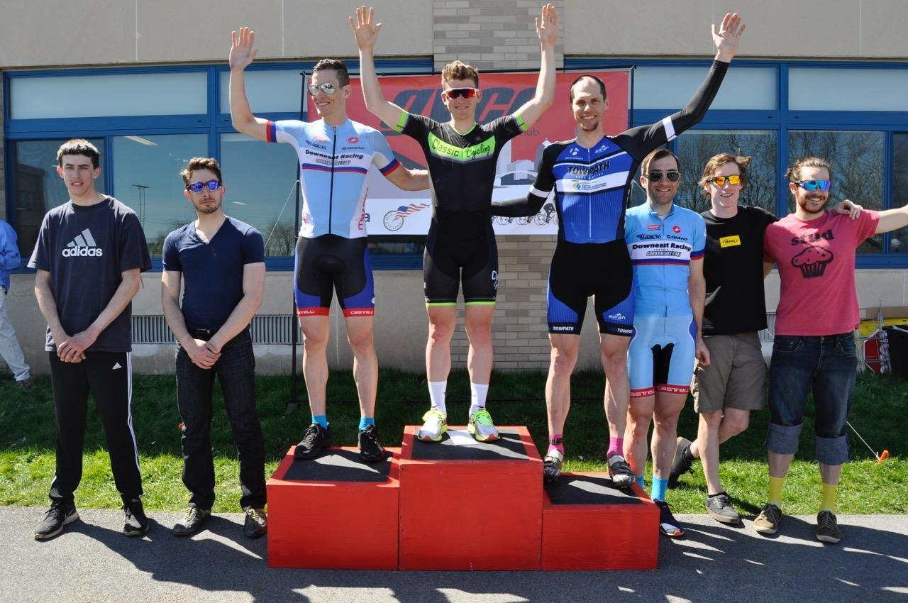Preston's Thoughts:  - That was a great race. Thanks GVCC!  - I'm pretty pleased with 5th. Way to play it smart!  - The number of podium places shall be 3, no more, no less. 4 places shalt thou not have, neither have thou 2, excepting that thou then have a 3rd. Five (or more...) is RIGHT OUT!
