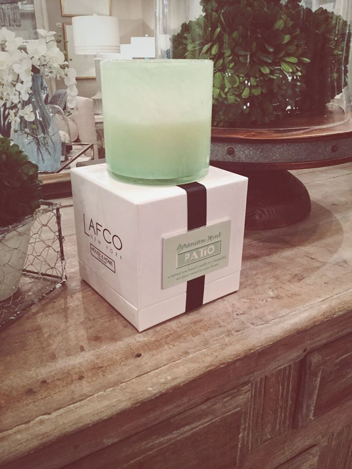 LAFCO patio candle
