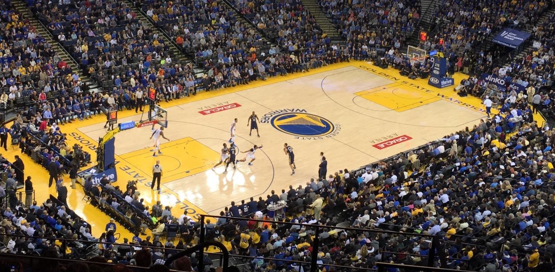warriors basket