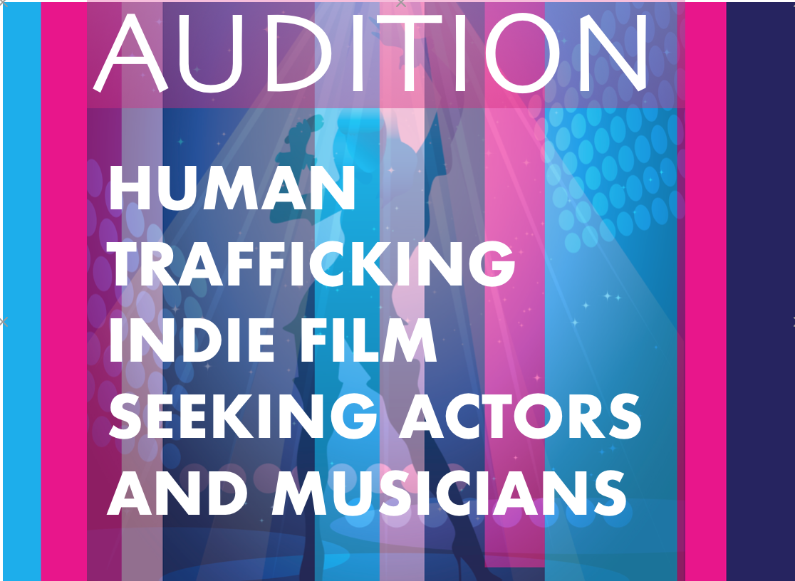 flyer AUDITION Human Trafficking Short Film- FIU Film Fest