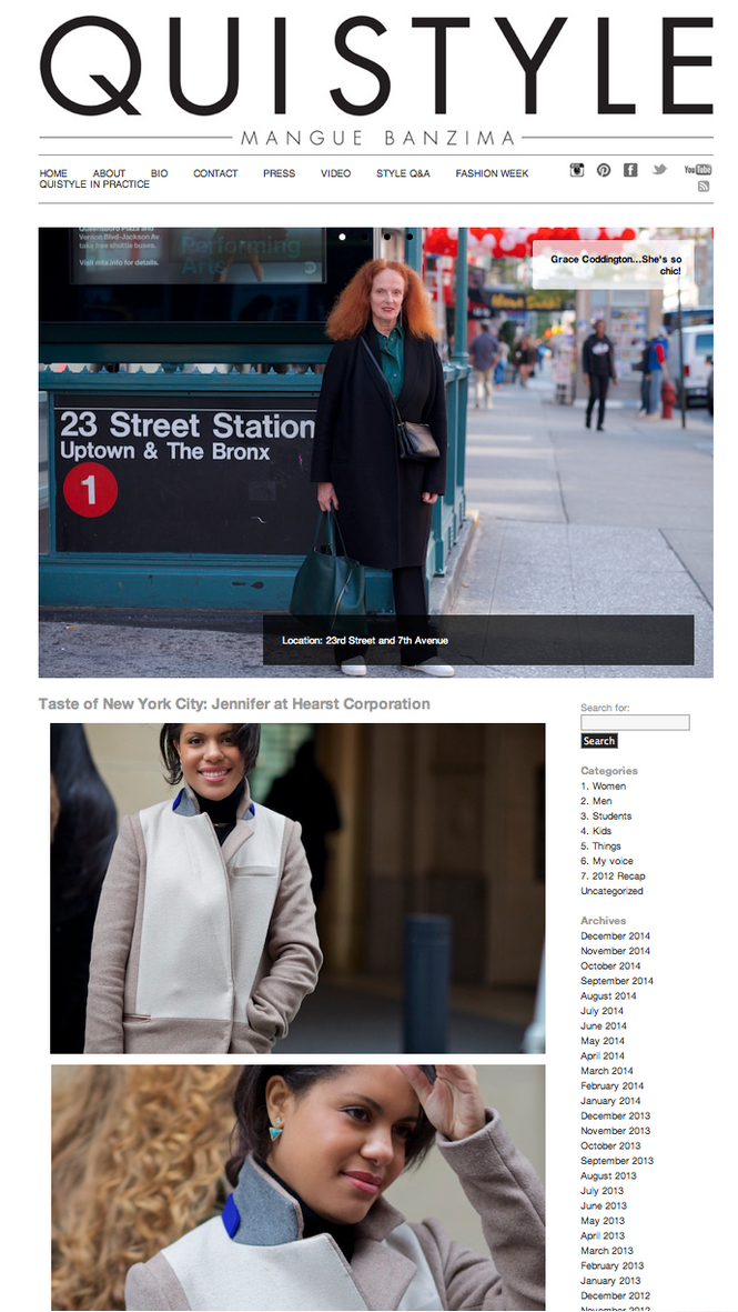 QuiStyle.com Street Style feature.