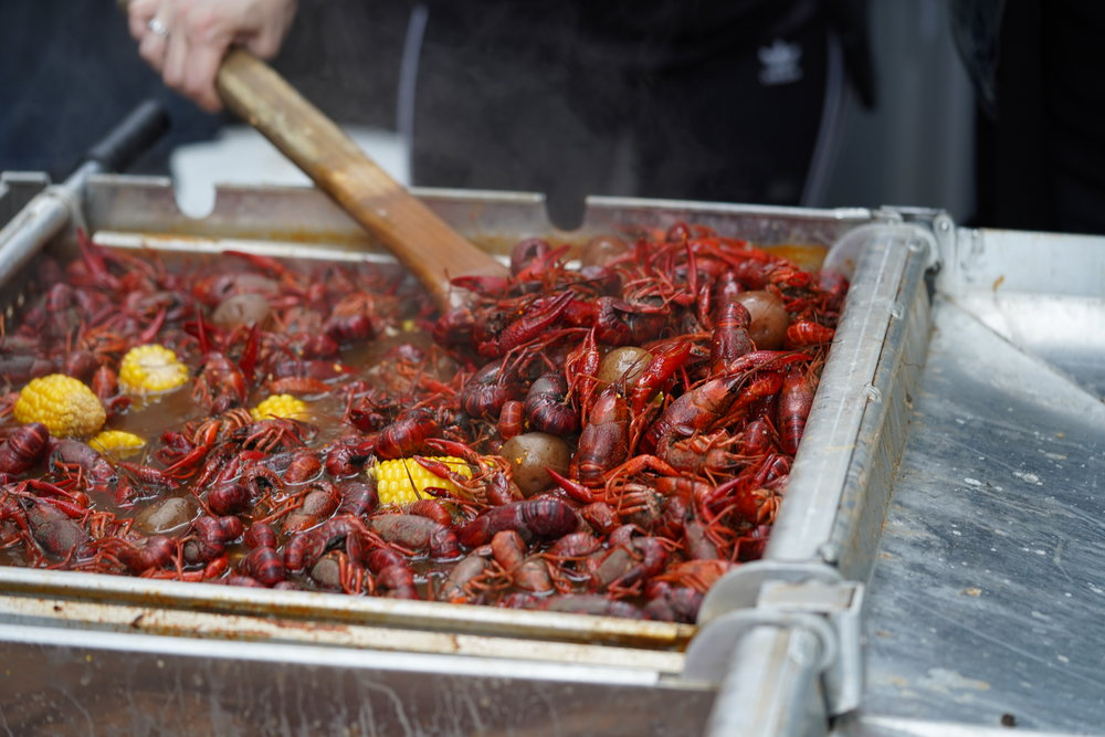 Off-site Crawfish Catering in NYC
