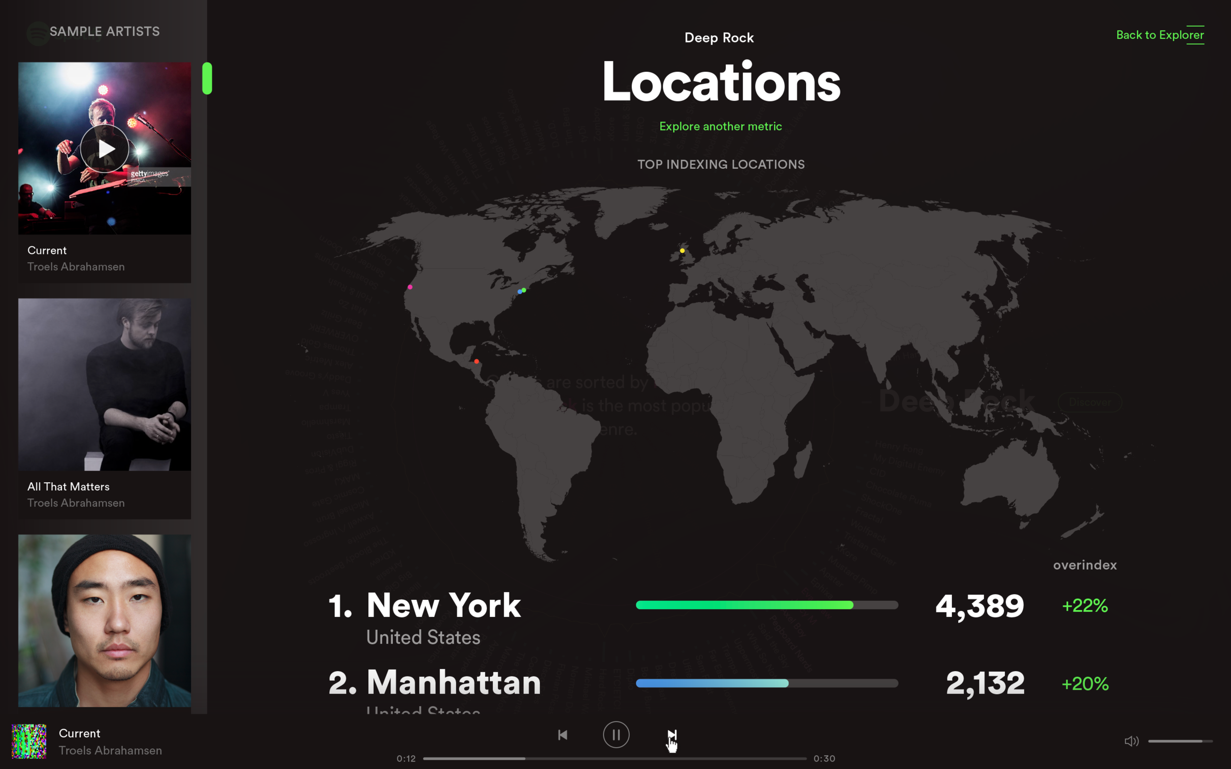 Improved geolocation data