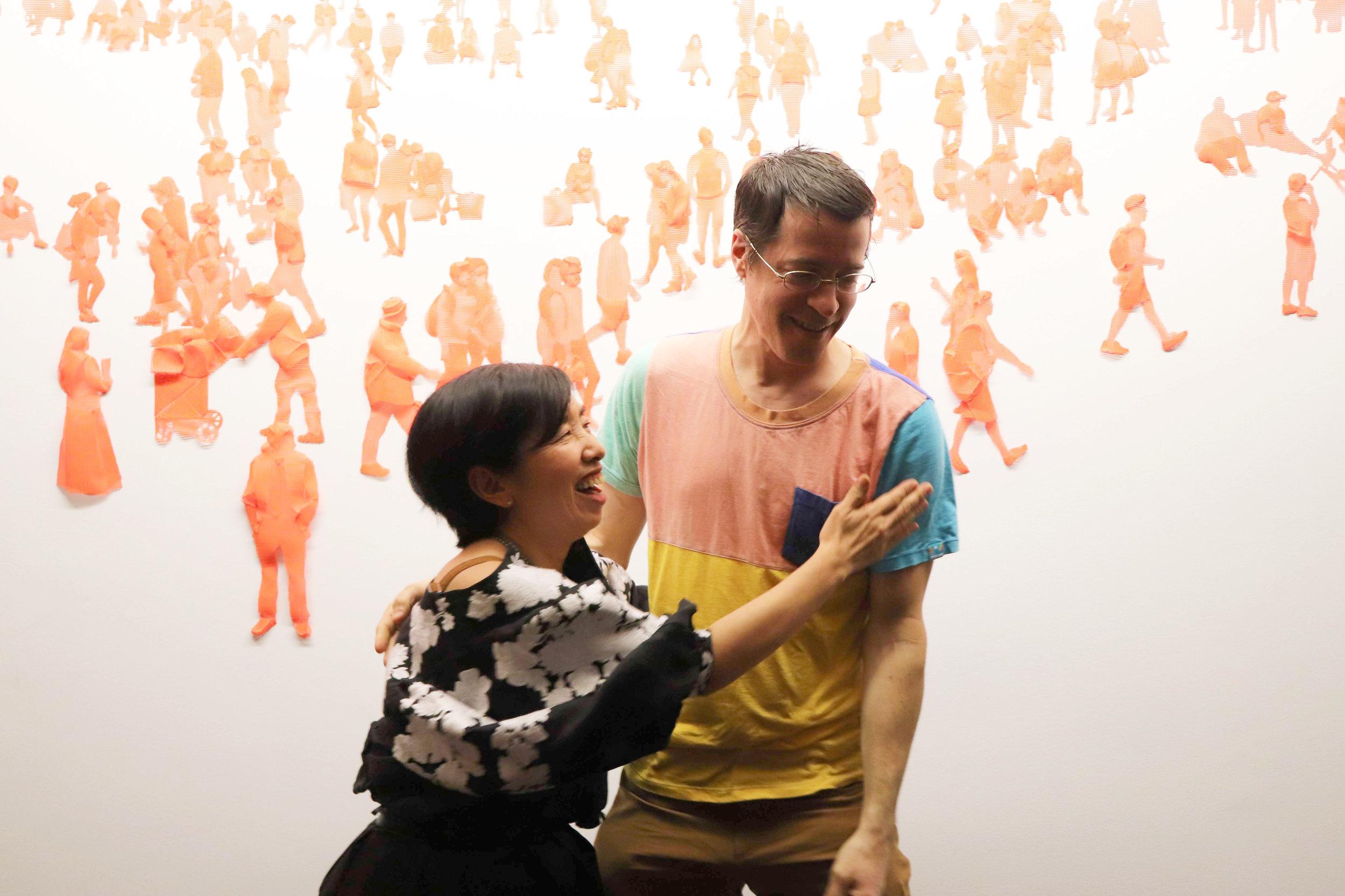 Harumi Ori, Artist in Residence