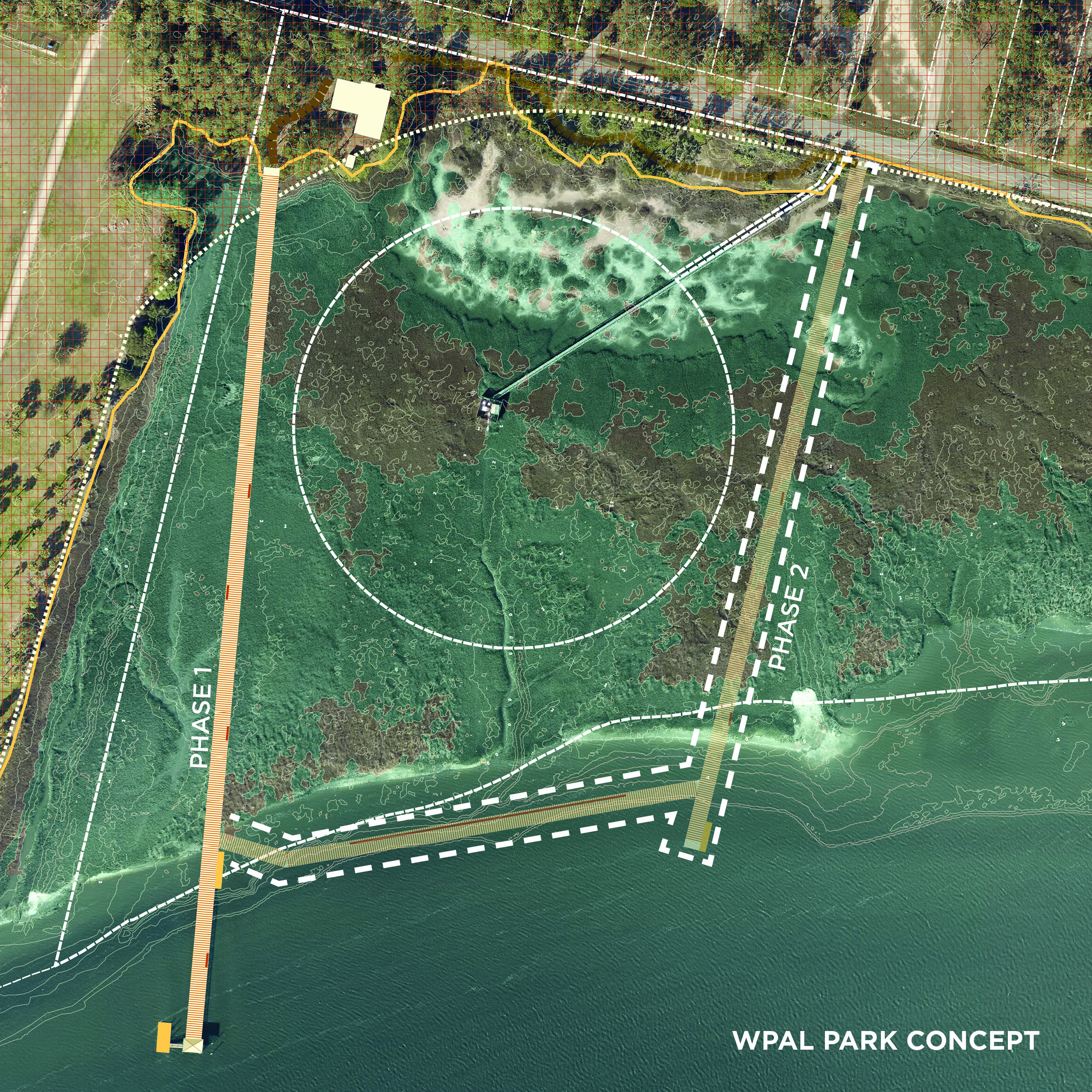 If the boardwalk is expanded, it might be done in two phases.