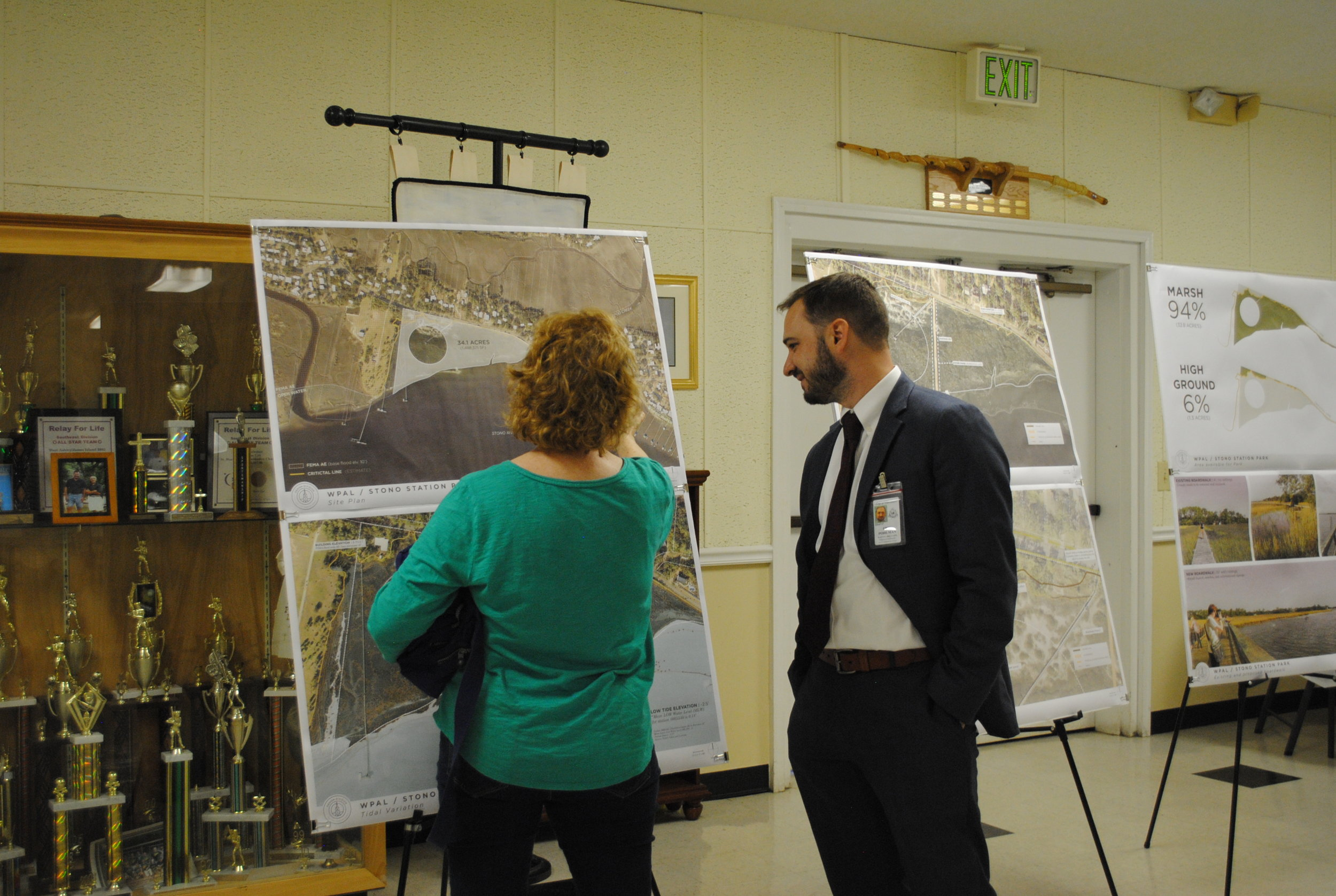 West Ashley Coordinator Eric Pohlman answers questions about the design..