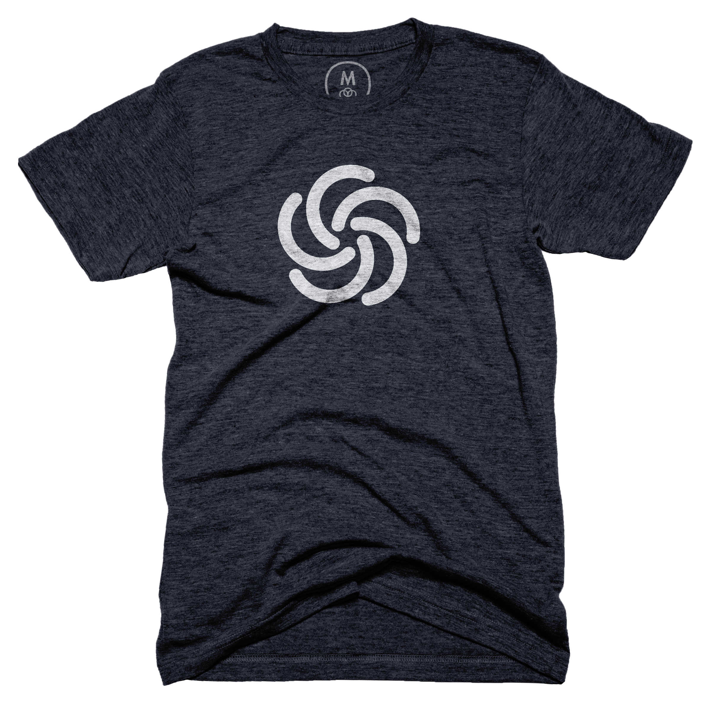 5th Anniversary T-Shirt ? Tri-Ble nd – Men - Tee – Vintage Navy.png