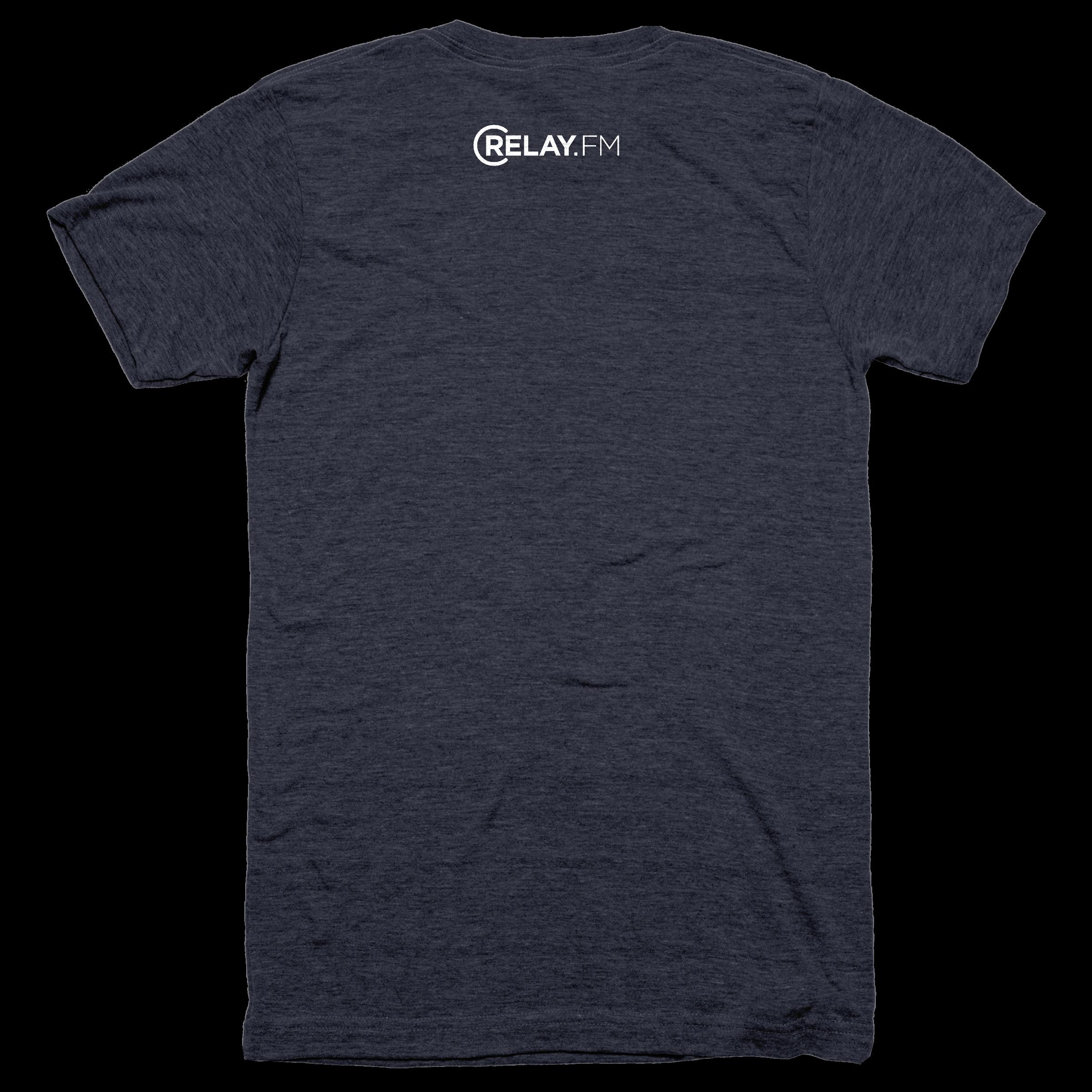 5th Anniversary T-Shirt Reverse ? Tri -Blend – Men - Tee – Vintage Navy.png