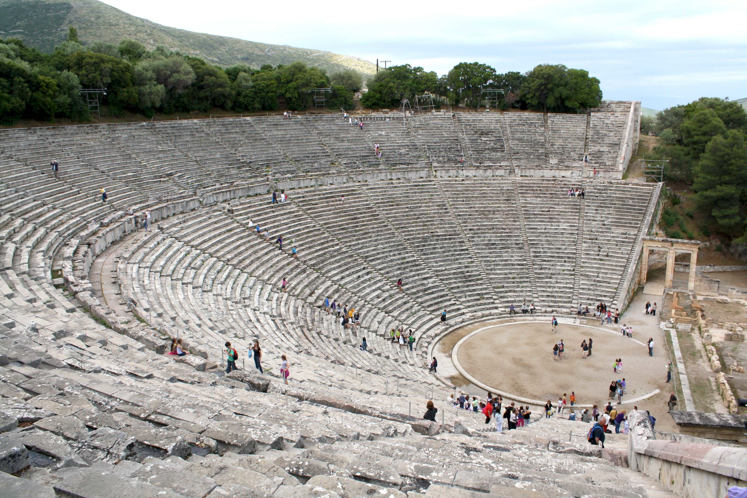 theater in epidaurus