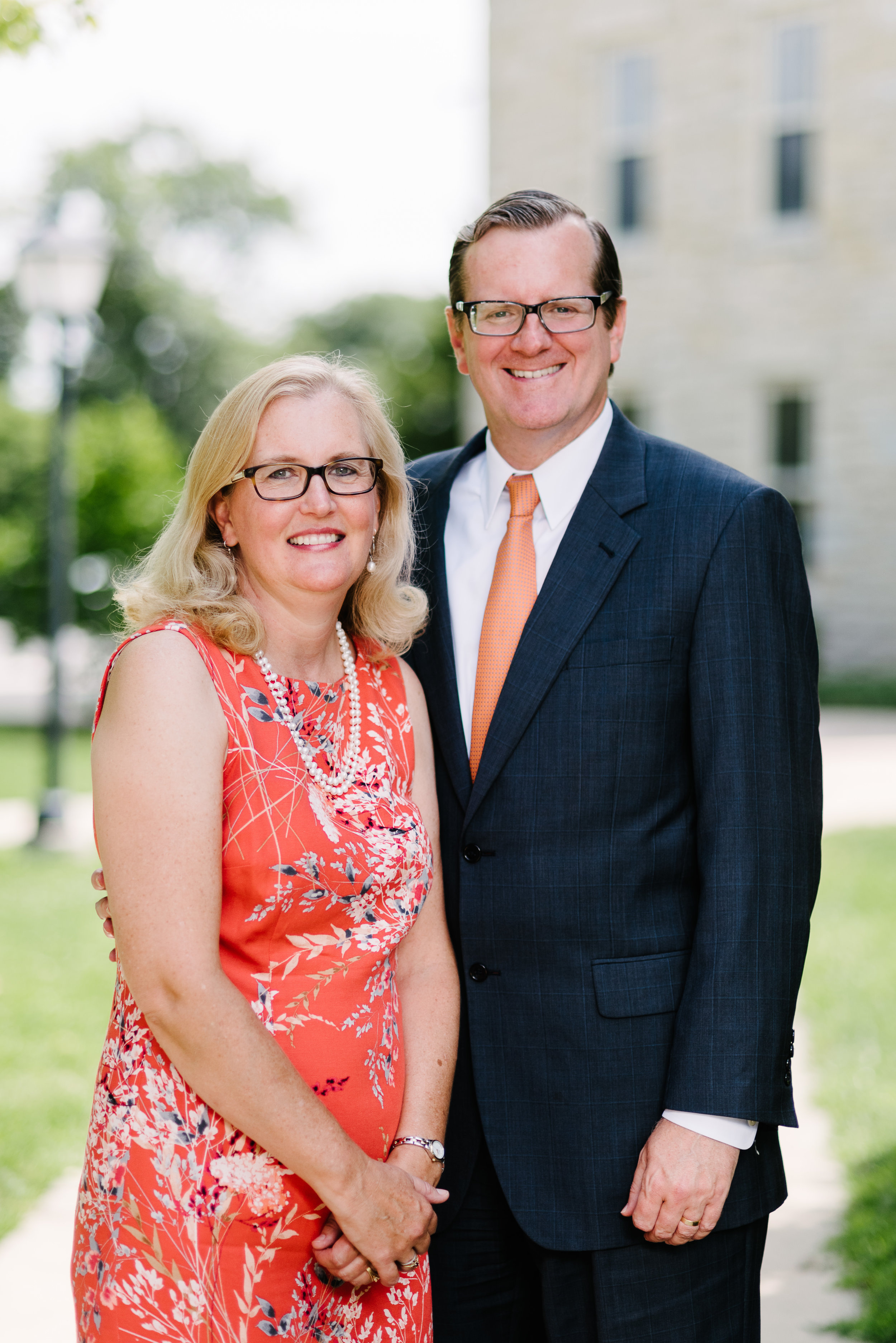 president philip and lisa ryken