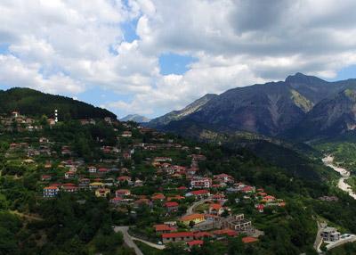The Mountain Village of Granitsa