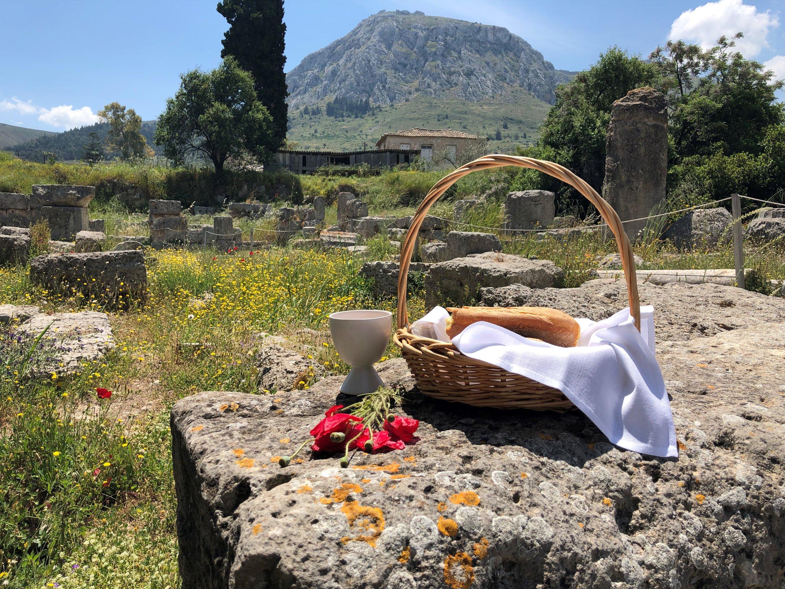 communion at corinth