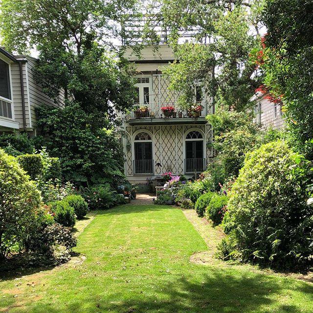 Mrs. Whaley's Garden. Lower Church Street.