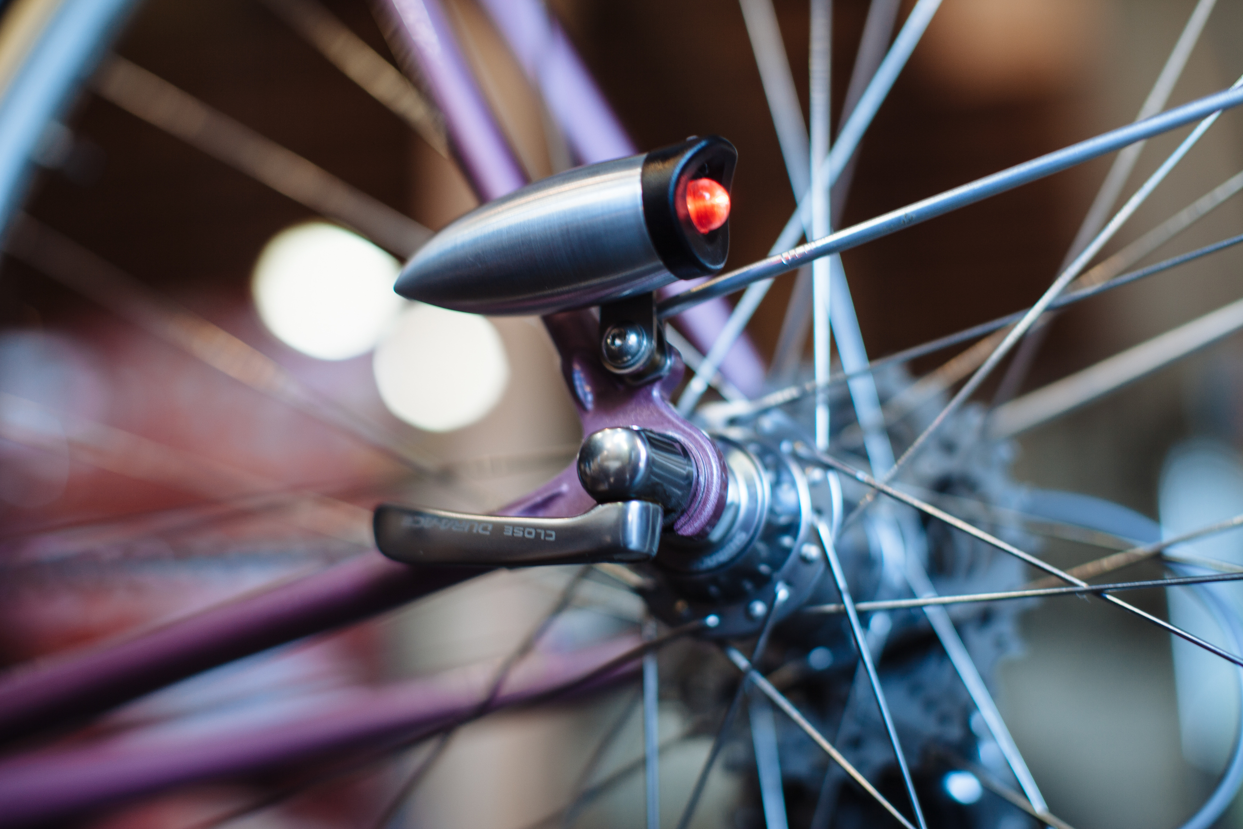 Bullet Tail Lights — Nothing is better than a bike that fits