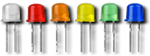 White, Red, Orange, Yellow, Green and Blue. Call 573-346-1187 for additional pricing options