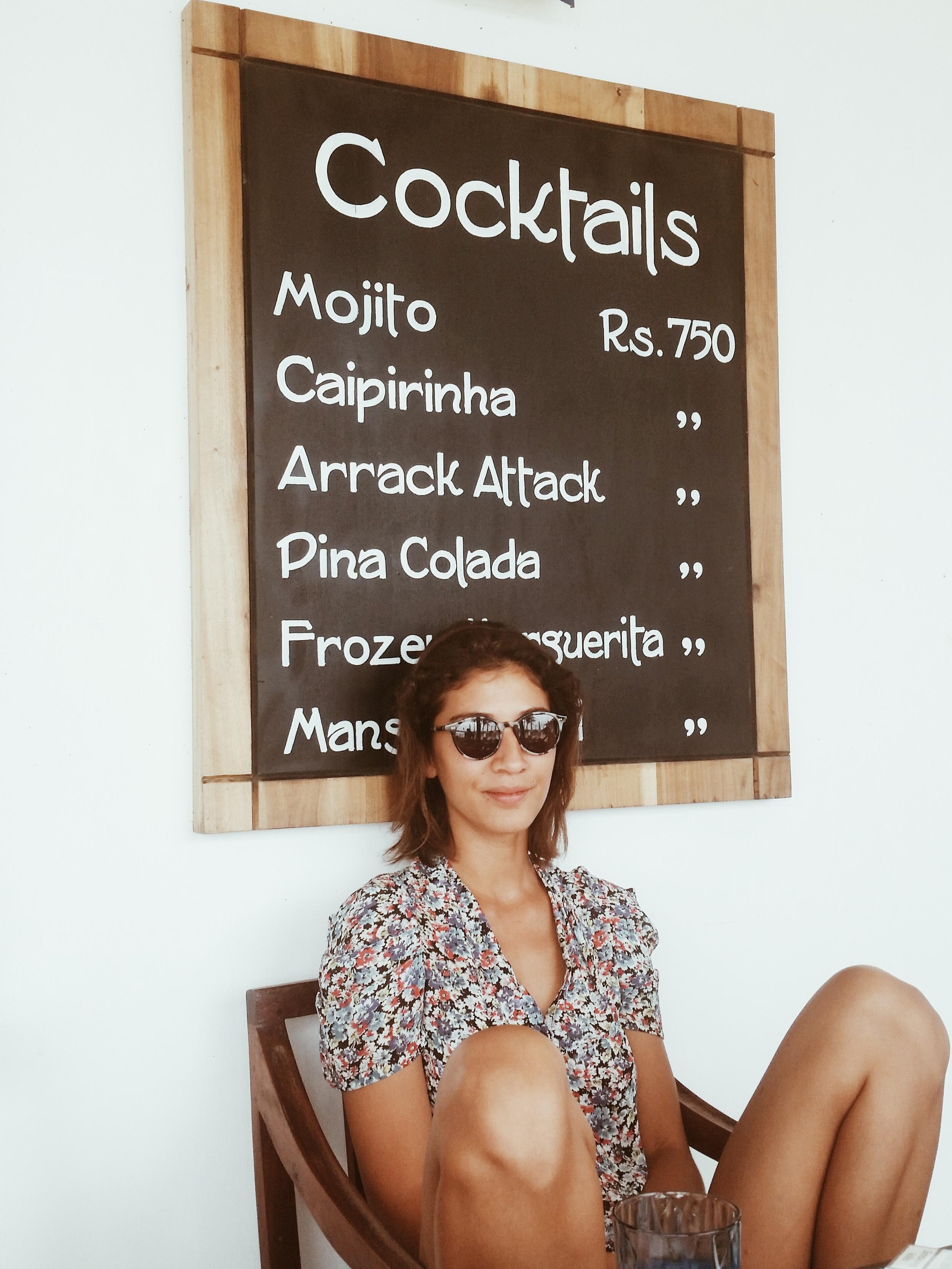 Jessica Fernando at Talpe Beach