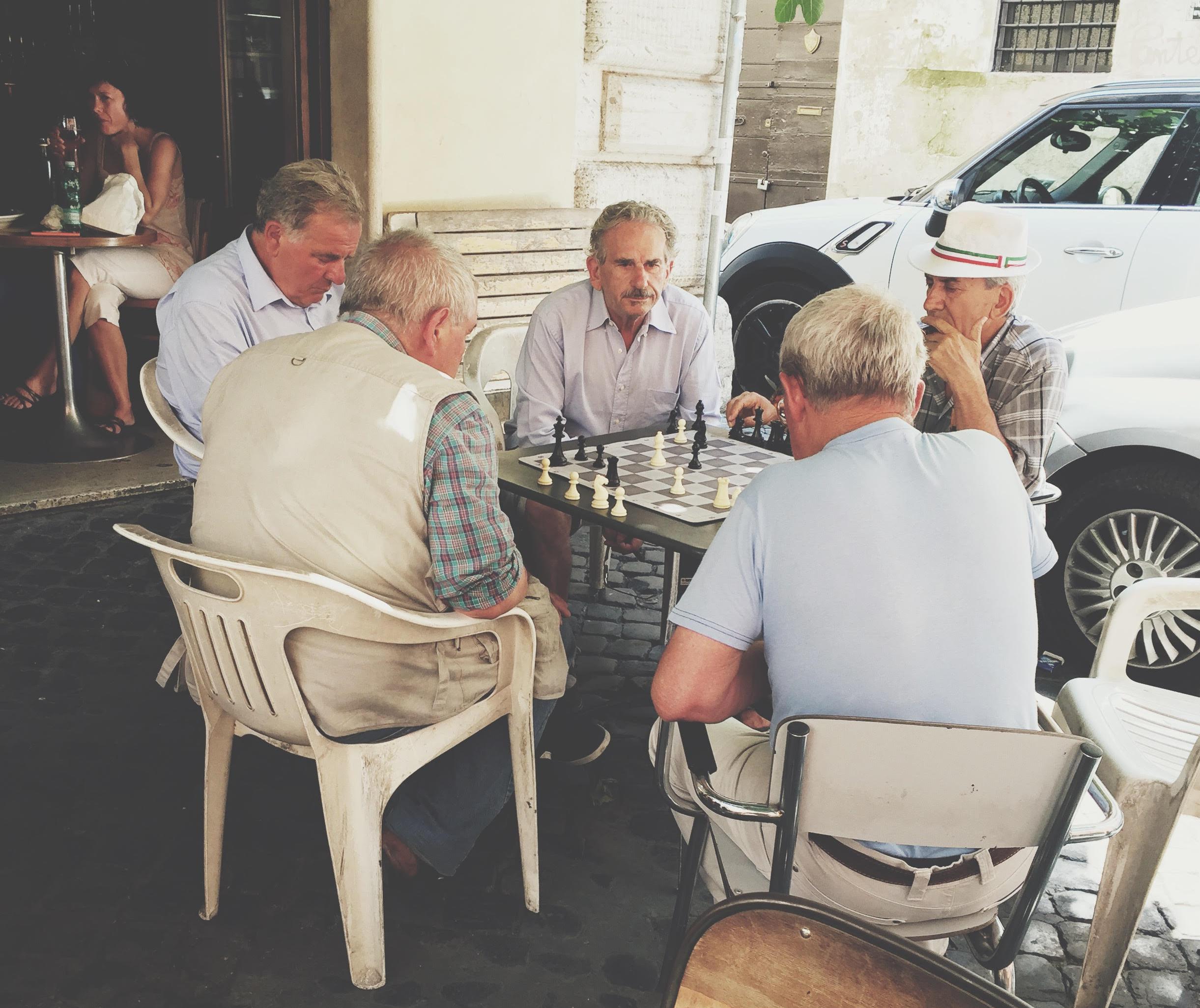 Chess at Piazza Navona