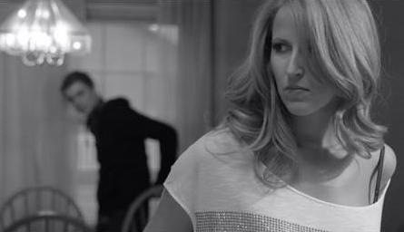 Still from La Lumière de la nuit, a short  film noir  in French.