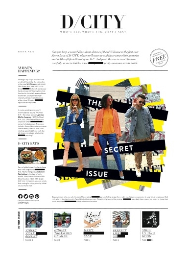 D/City Magazine Cover