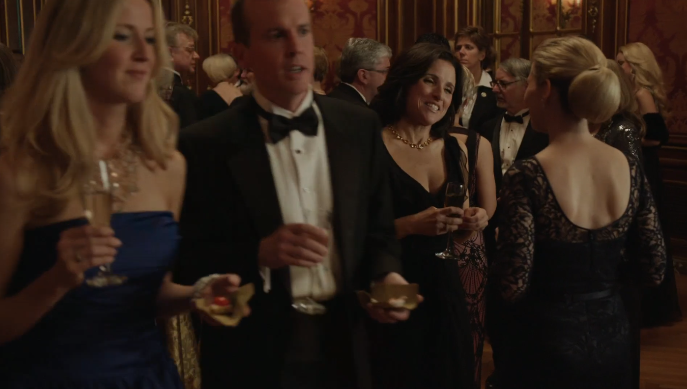 Veep! Sharing the screen with Julia Louis Dreyfus even for a few frames is totally  exhilarating .