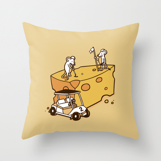 Par Cheesy Pillow