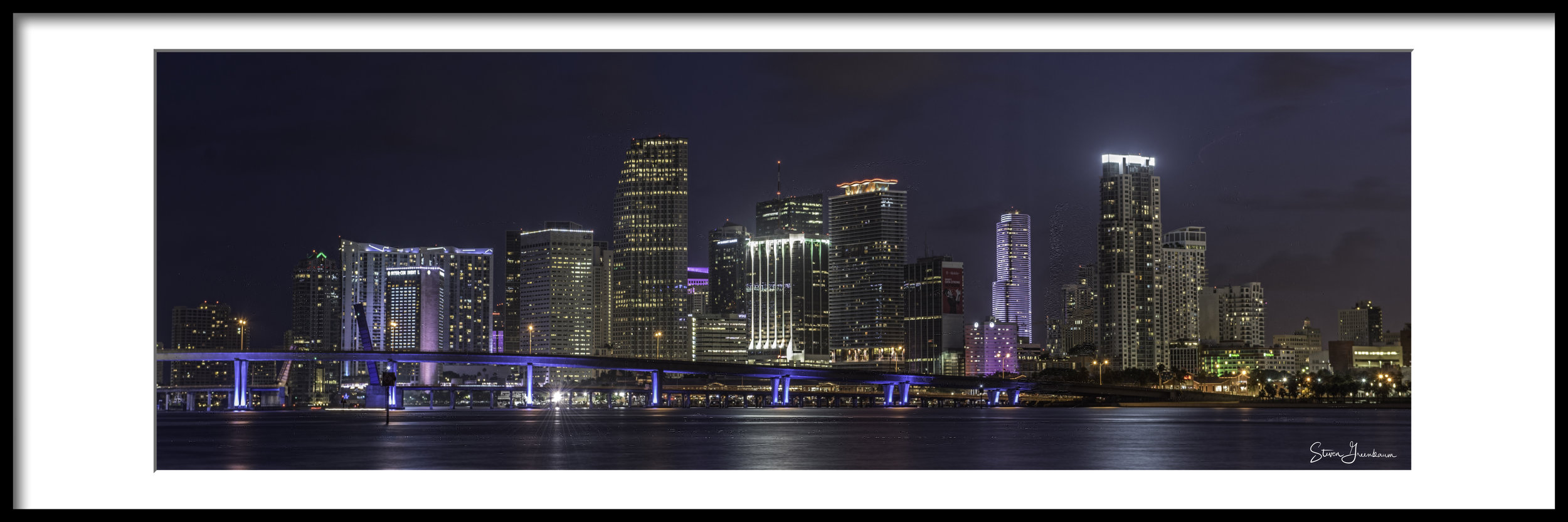 Miami From Watson Island - 2015