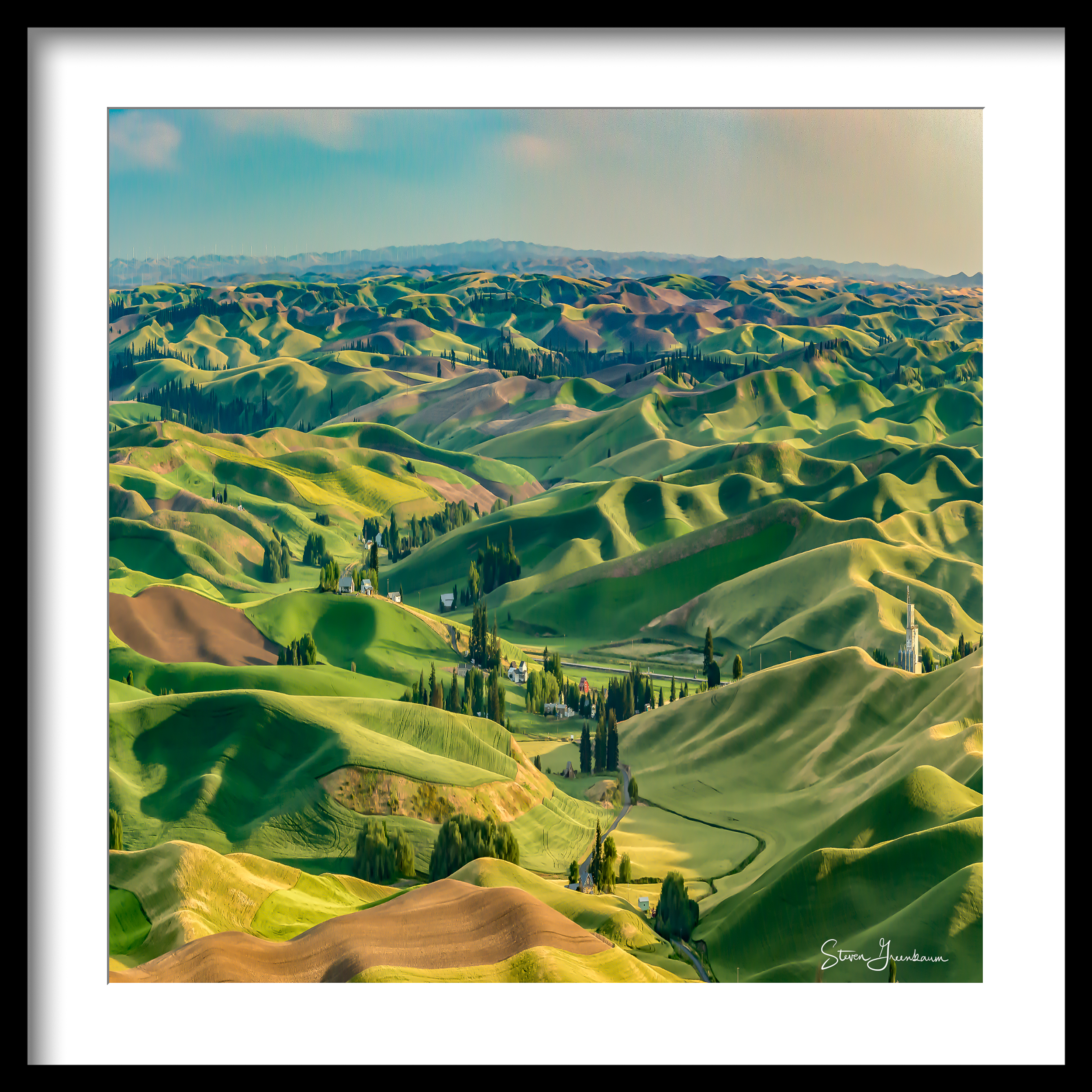 View From Steptoe Butte,, 2015