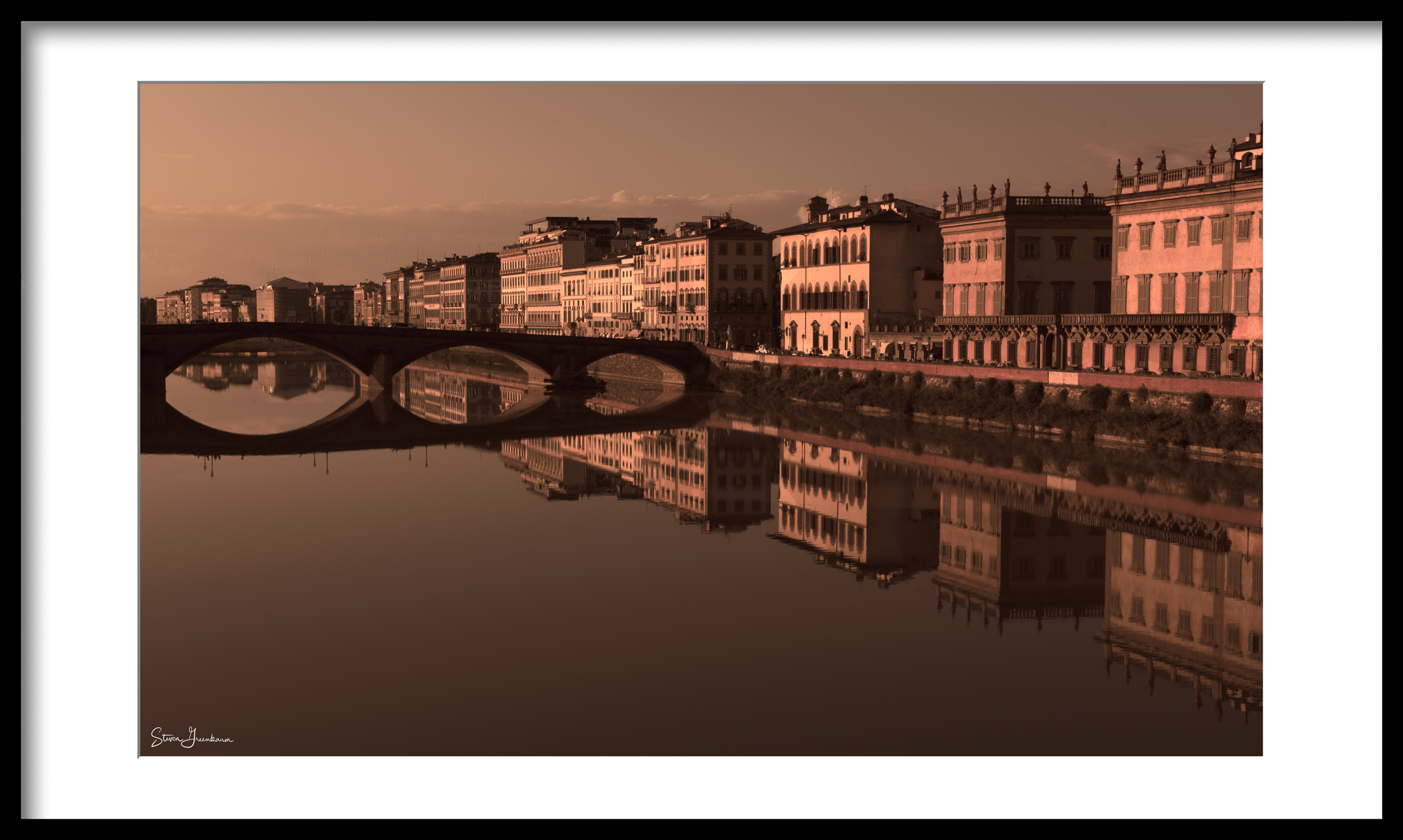 Florence - Arno Reflections 2014