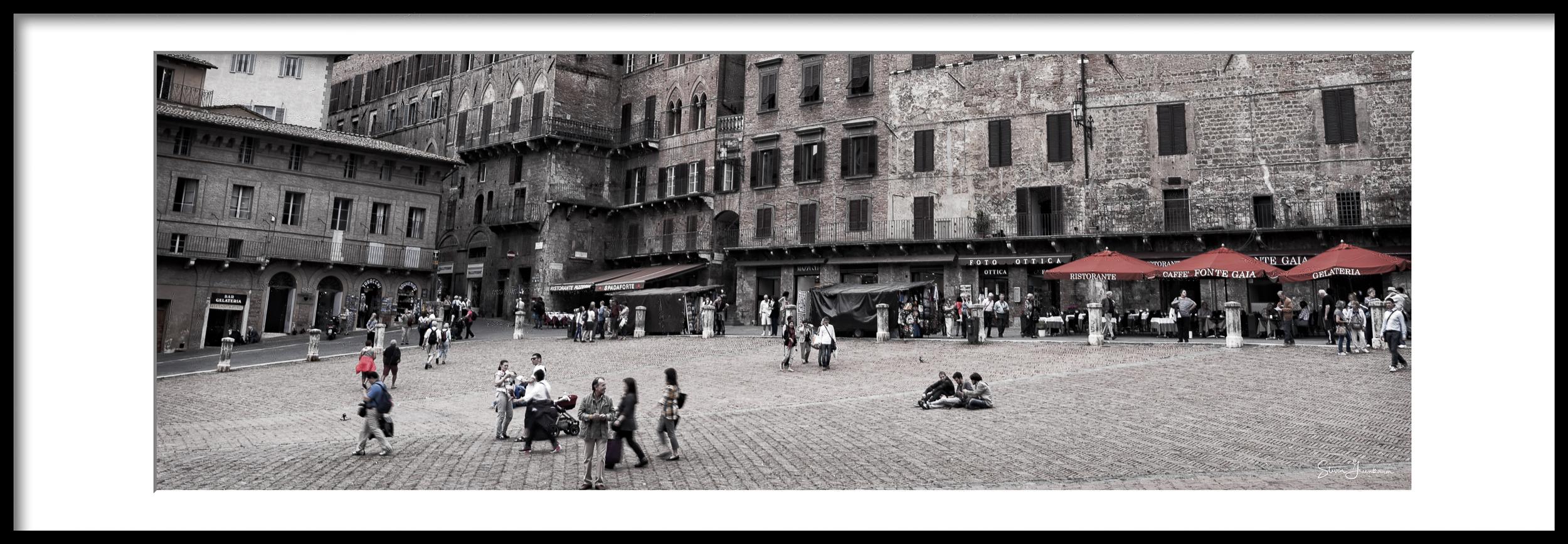 Piazza Del Campo, Siena 2014