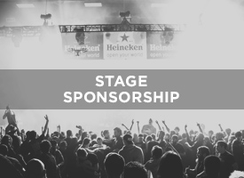 Name and Brand a LAUNCH Performance Stage in your brand's name. This stage is printed on all signage, in the conference guide, and used on the website. Banners on the stage, as well. Prices vary by Stage, from as low as $750 to $2,000. Stage Sponsorship is included in our Platinum Level Sponsor Package, as well. These are first come, first served, while opportunites last. *contact us to design a stage sponsorship.   CONTACT US FOR MORE DETAILS AND PRICING
