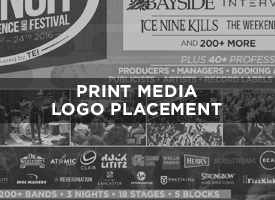 Print Media Placement includes your logo in posters, postcards, print ads in magazines. These options are included in the Gold and Platinum level sponsorships but can be purchased a la carte here as a supporting partner role.   Price: $750