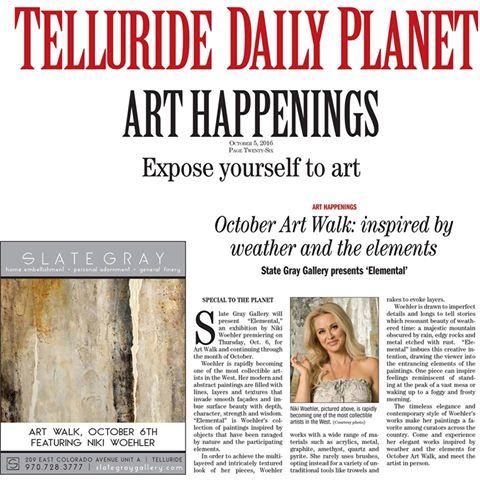 Telluride Art Walk | Niki Woehler
