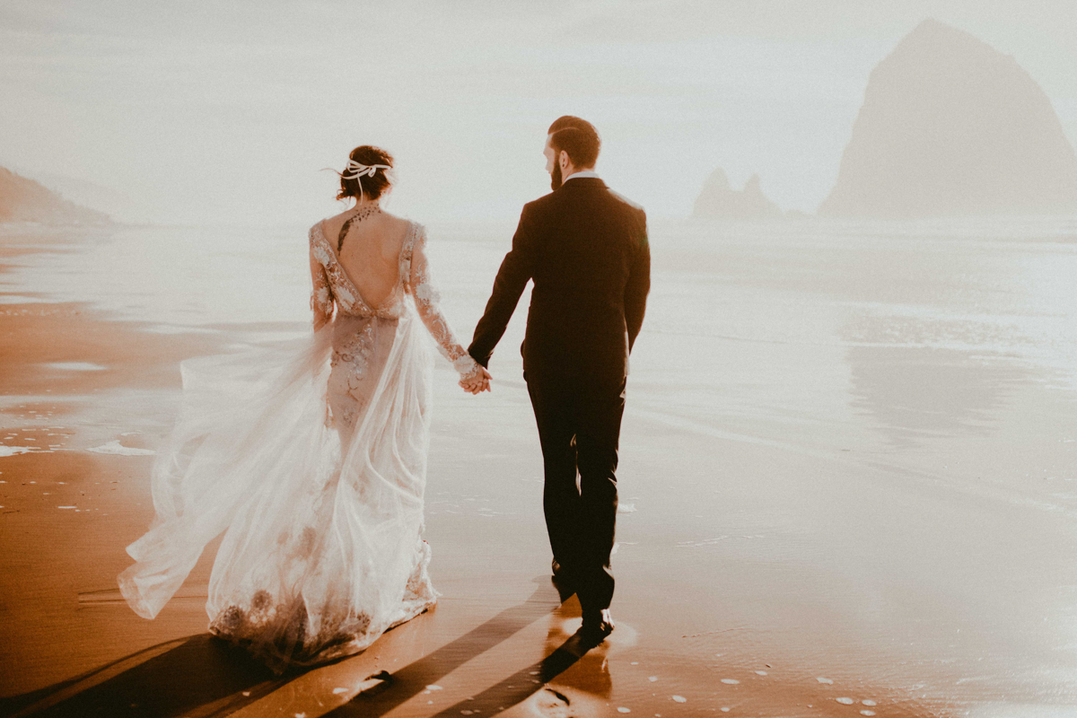 A Canon Beach engagement shoot  by Don and Helen