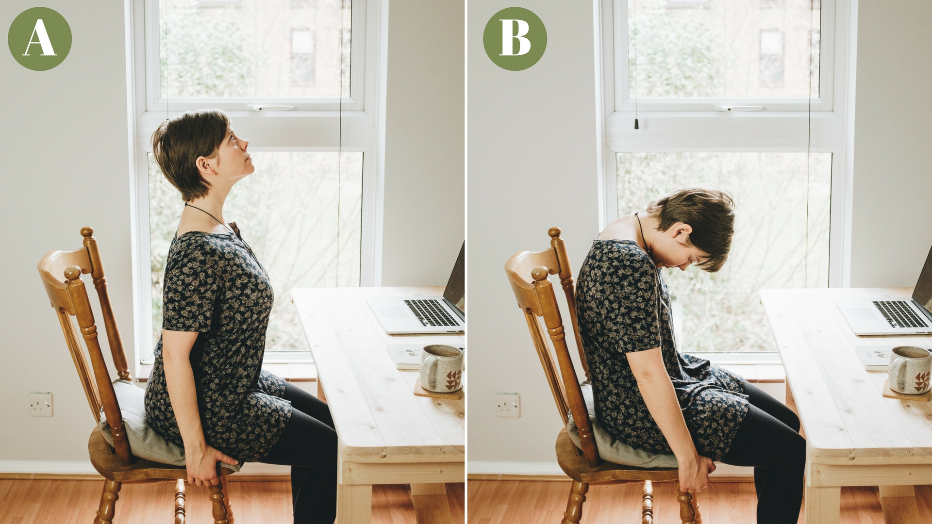 seated stretches neck yoga