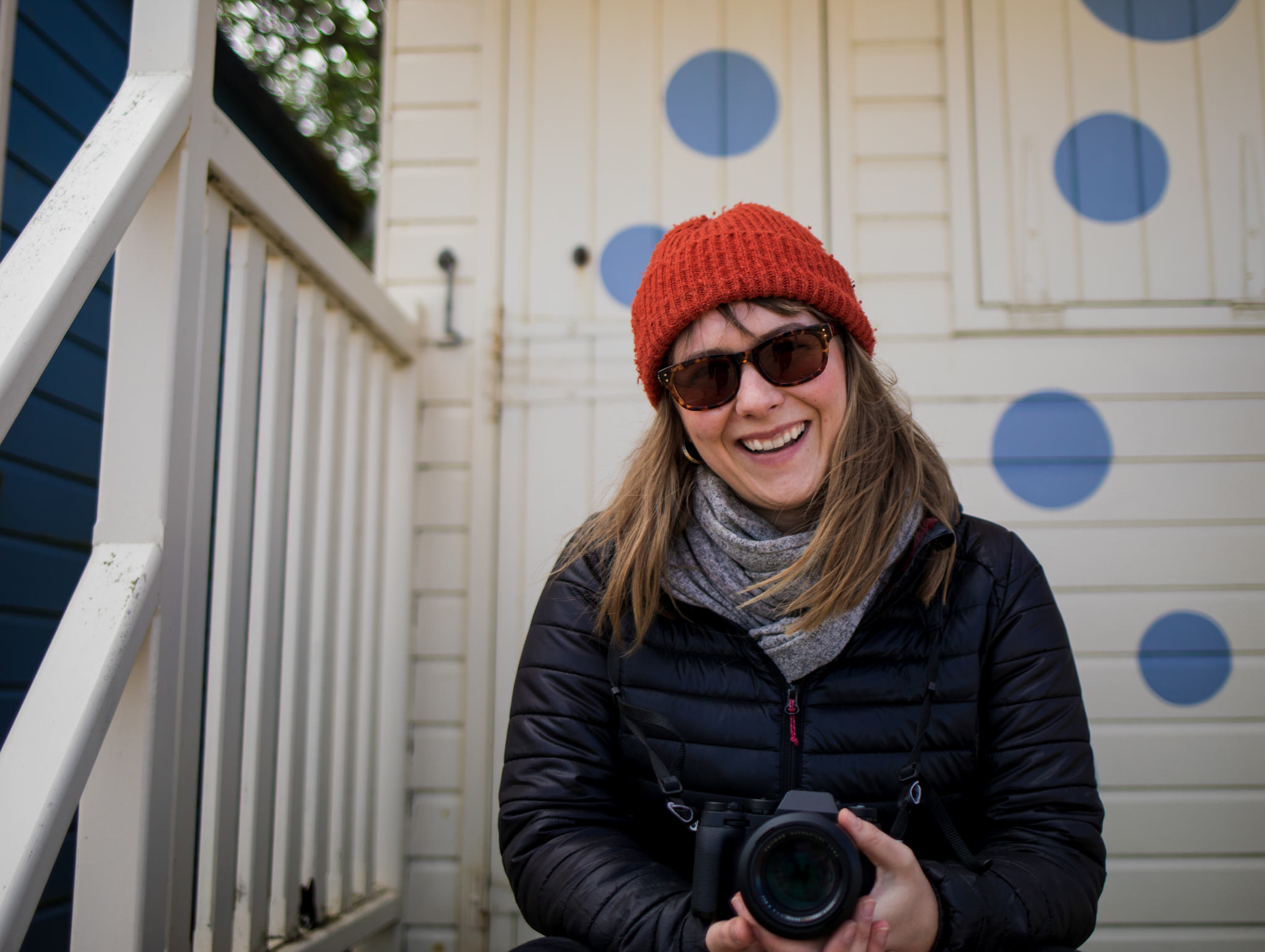 Picture of Alice Lodge at SNAP photo festival in 2018