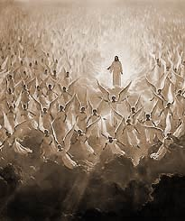 jesus and his angels
