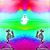 skeltons and ghost