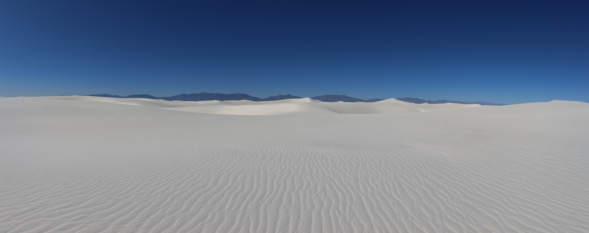 A panorama of the Sands in the morning...a perfect day.