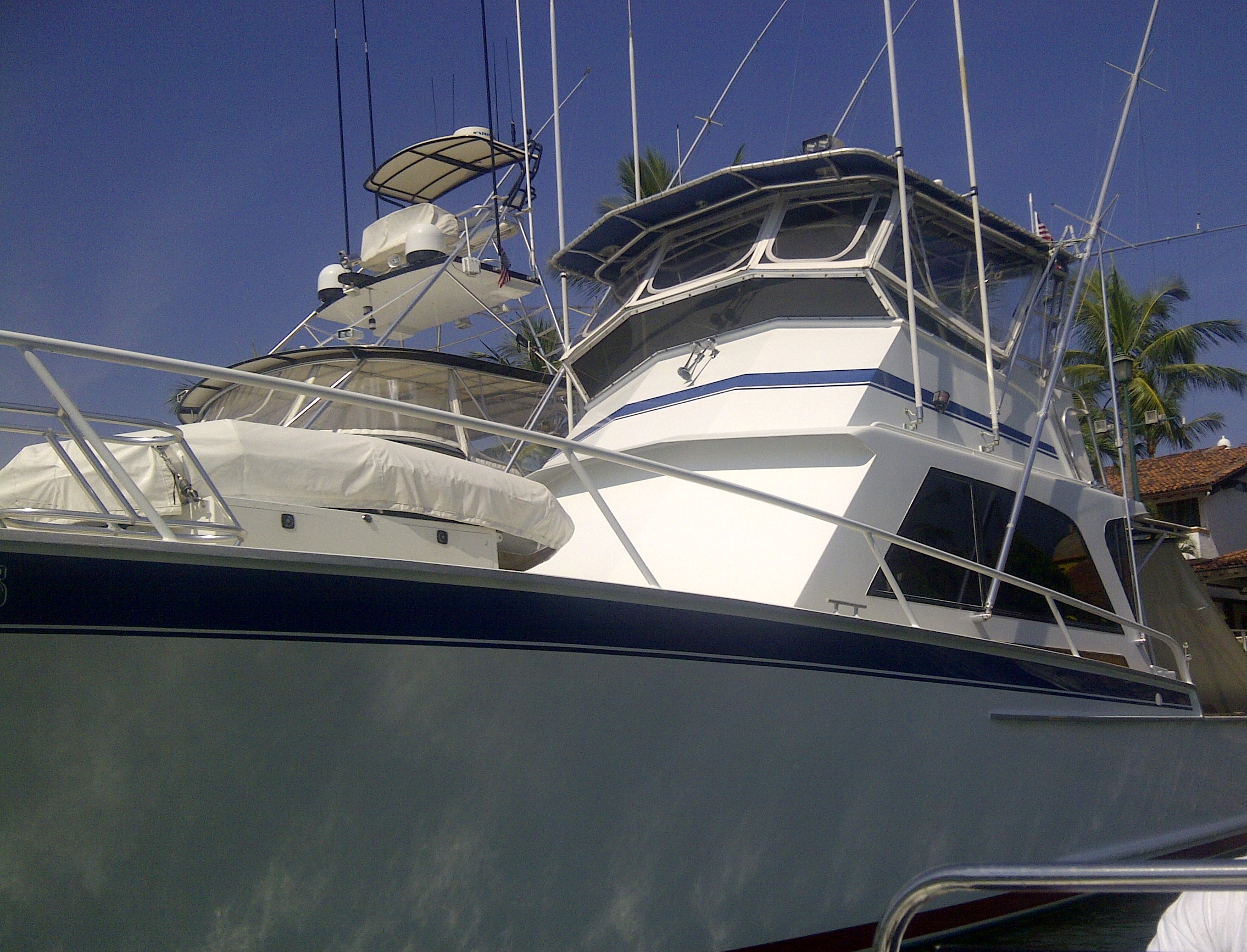 Striker 44' Delivered from Puerto Vallarta to Cabo san Lucas