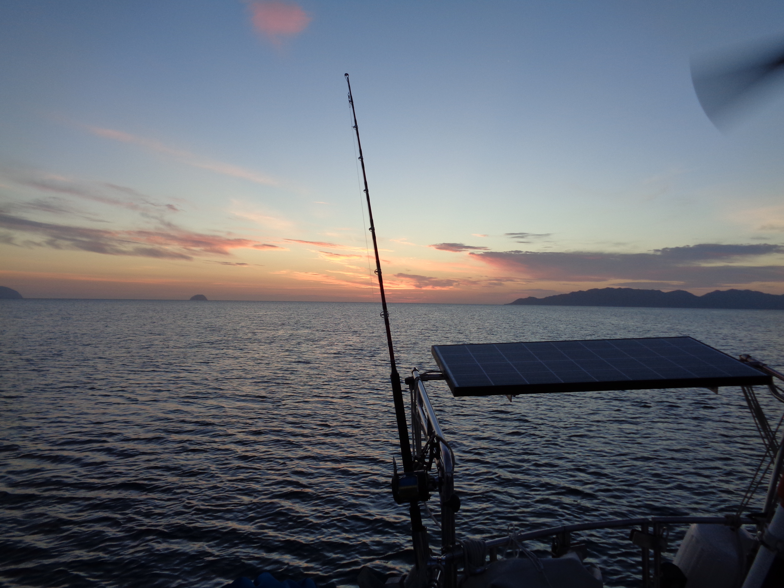 Sunset in the Sea of Cortez