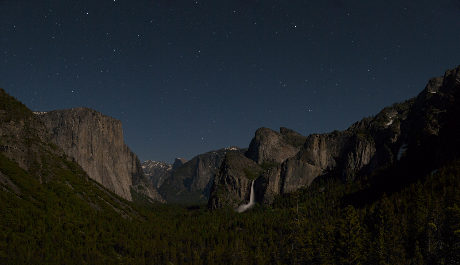 A Clear Midnight. Yosemite NP, 2010