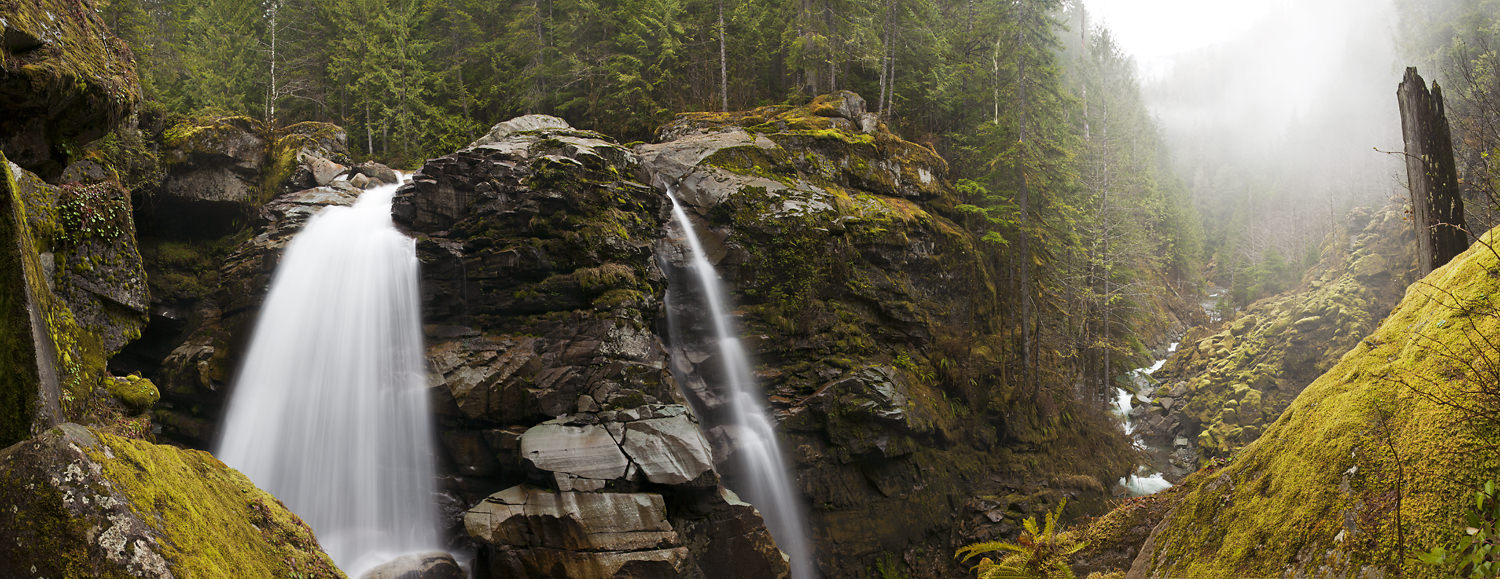 Nooksack Falls, a Morning